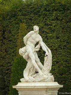 Beautiful yet gruesome statue