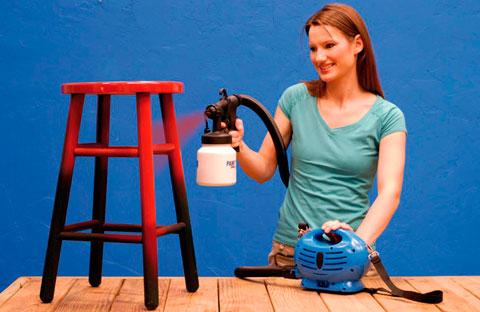 Paint zoom - универсальный распылитель краски (Казахстан)