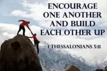 encourage one another scripture