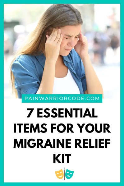 7 Essential Items For Your Migraine Relief Kit