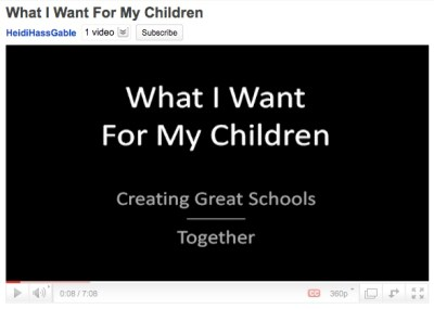 """What I Want For My Children ~ by Heidi Hass Gable ~ CC = BY::NC::SA"""