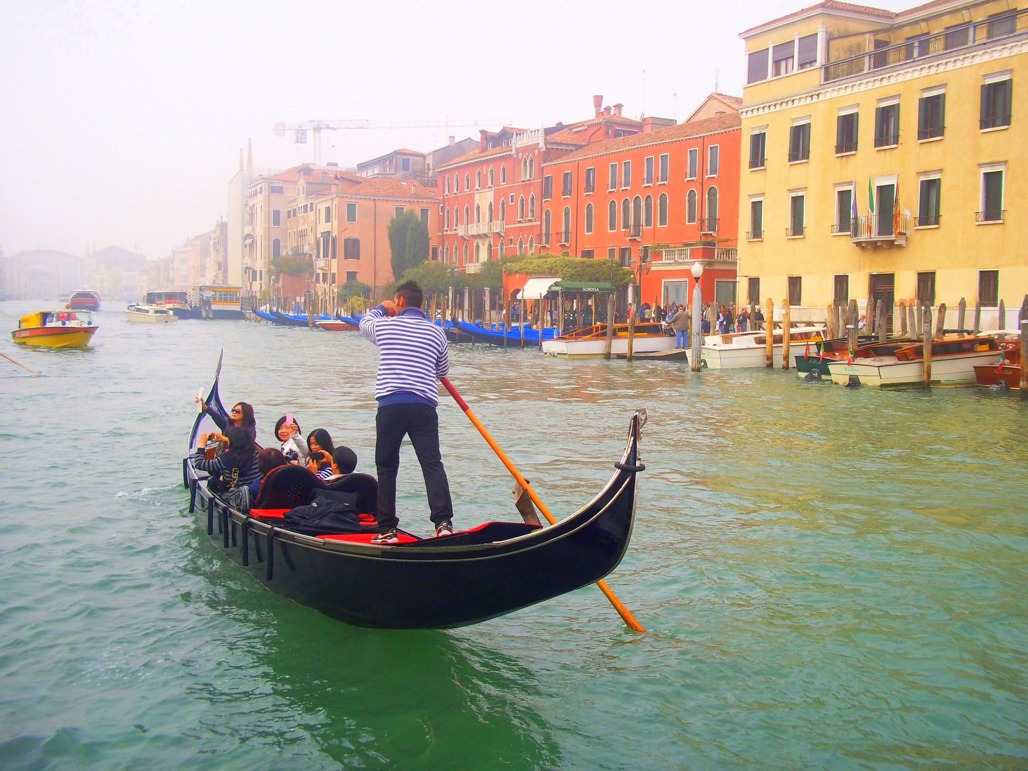 El Gran Canal en Venecia