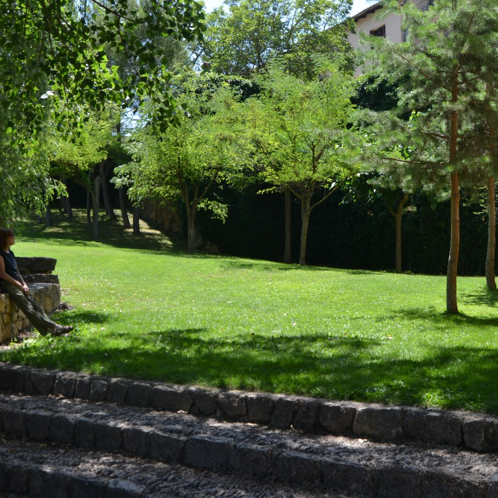 Santuario de la virgen de las fuentes en Peñarroya