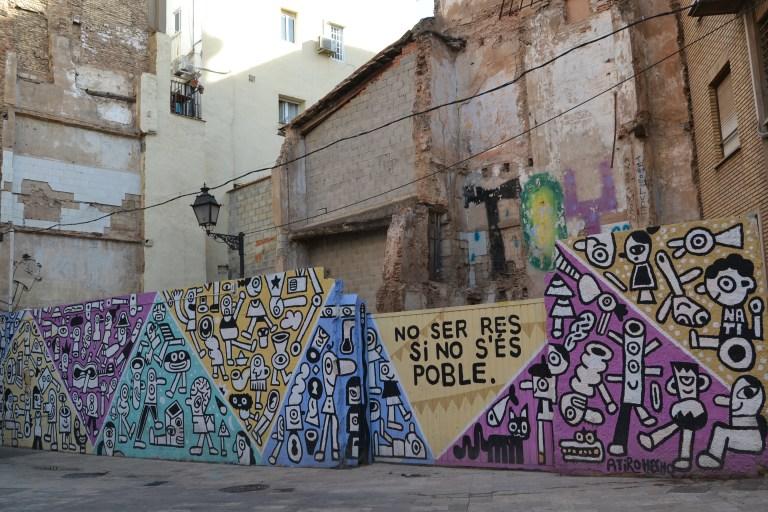 Grafitis en valencia