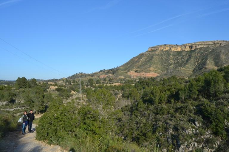 Camino de los Puentes Colgantes en Chulilla