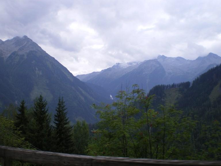 Los Alpes desde el Tirol austriaco