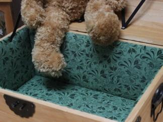 Pine & Green Chest: Detail