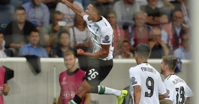 VIDEO: Trent Alexander-Arnold Scores on His Champions League Debut