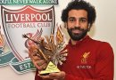 Mohamed Salah Wins BBC African Footballer of the Year