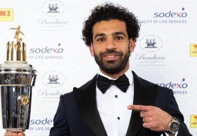 Salah Wins PFA Player of the Year Award, Focused on Champions League Semi-Final