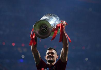 Liverpool Champions League Trophy Lovren