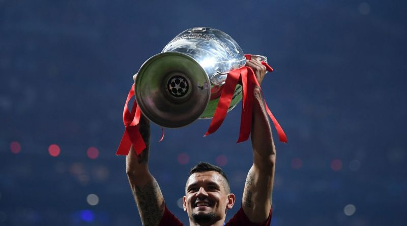 Liverpool Champions League Trophy Lovren