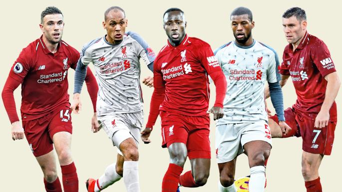 Liverpool midfielders