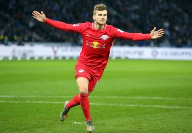 Timo Werner goal for Leipzig vs Berlin
