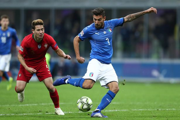 Lorenzo Pellegrini - Italy and Roma midfielder