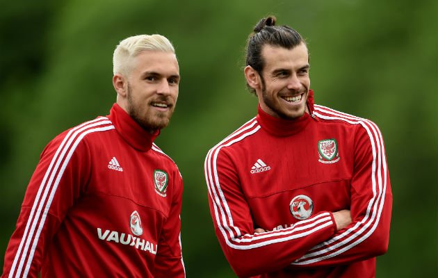 Ramsey and Bale for Wales