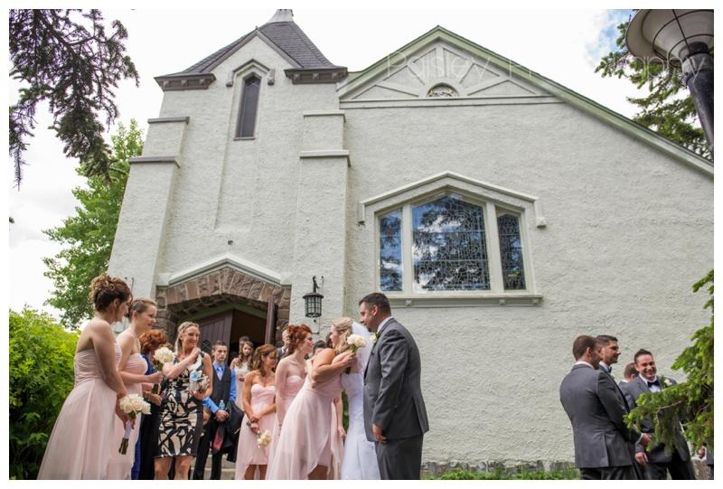 Church Wedding Banff Alberta