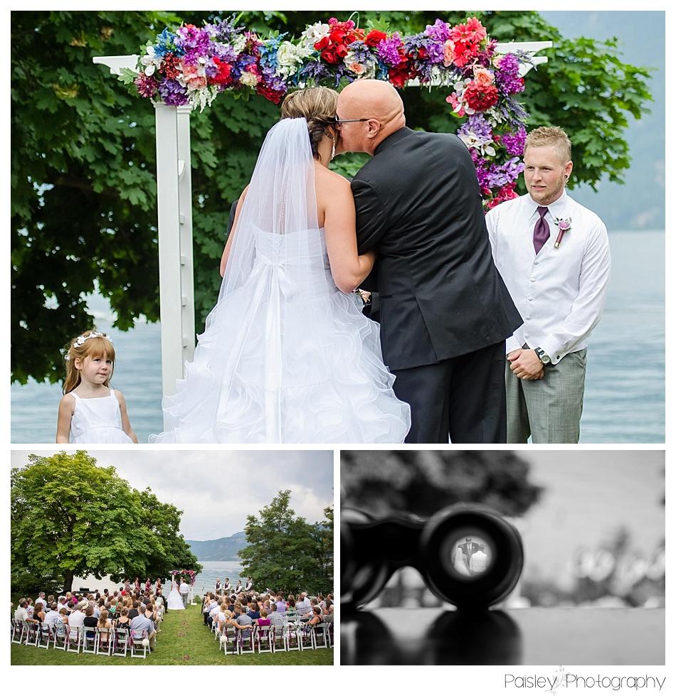 Outdoor Wedding Ceremony Calgary: Matt & Keara's Manteo Resort