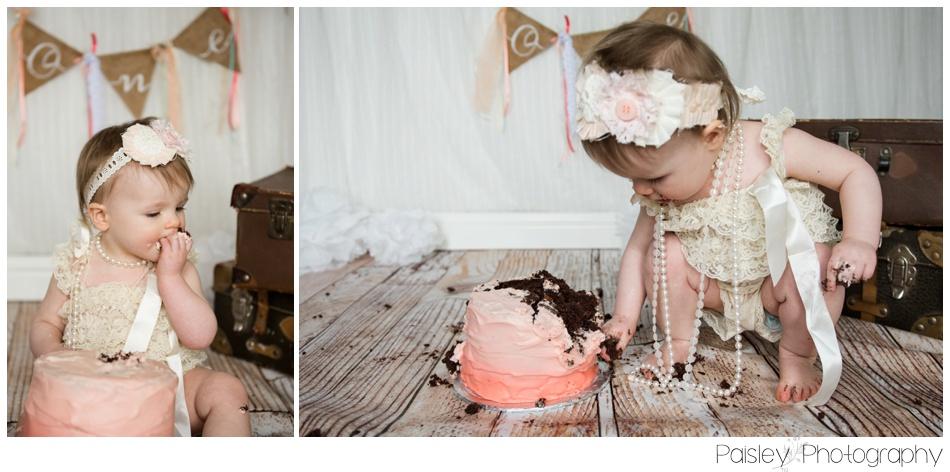 Burlap Cake smash, Calgary Cake Smash Photographer, Calgary Cake Smash, Cochrane Cake Smash, Cochrane Cake Smash Photography, Cochrane Cake Smash Photographer,