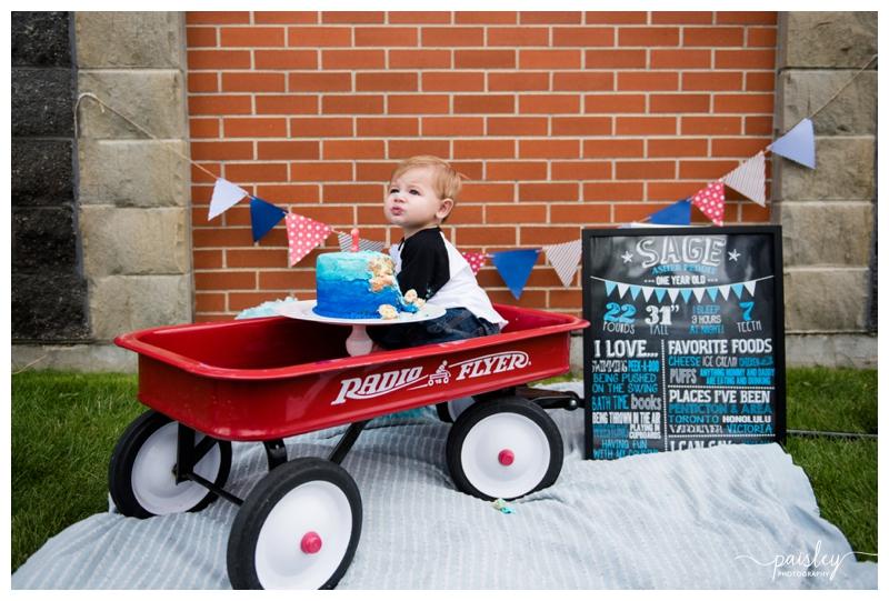 Radio Flyer Wagon Children's Photography