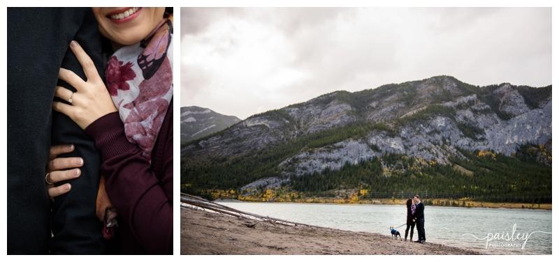 Barrier Lake Engagement Photographer