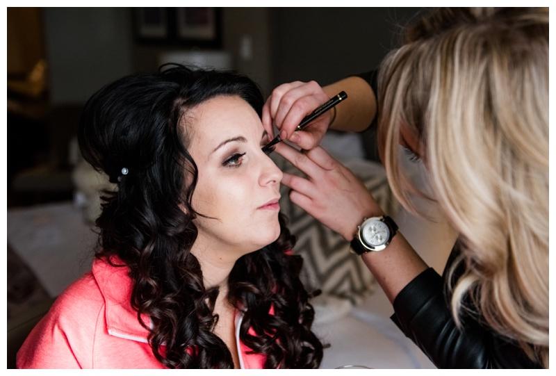 Bridal Getting Ready Photography Calgary