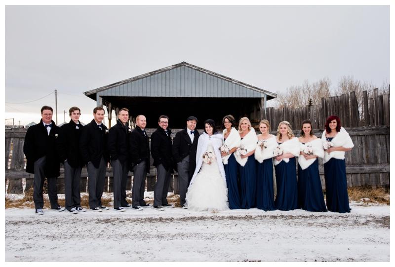 Calgary Winter Wedding Photography