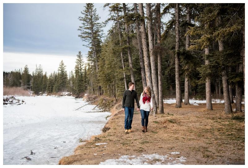 Calgary Fishcreek Park Engagement Photos