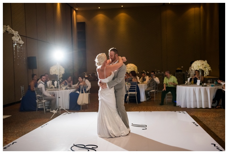Calgary Wedding Reception Photography