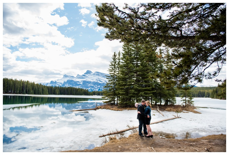 Two Jack Lake Wedding Photography