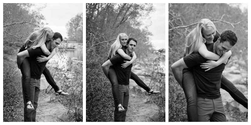 Prince's Island Park Engagement Photos