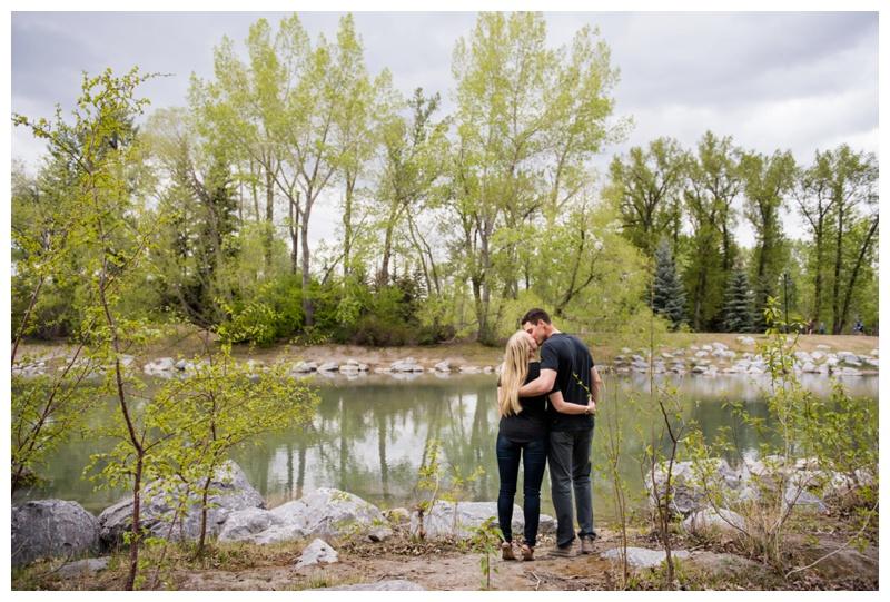 Engagement Photos Prince's Island Park Calgary