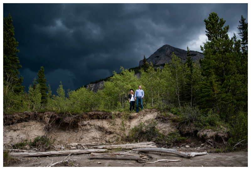 Barrier Lake Engagement Photography