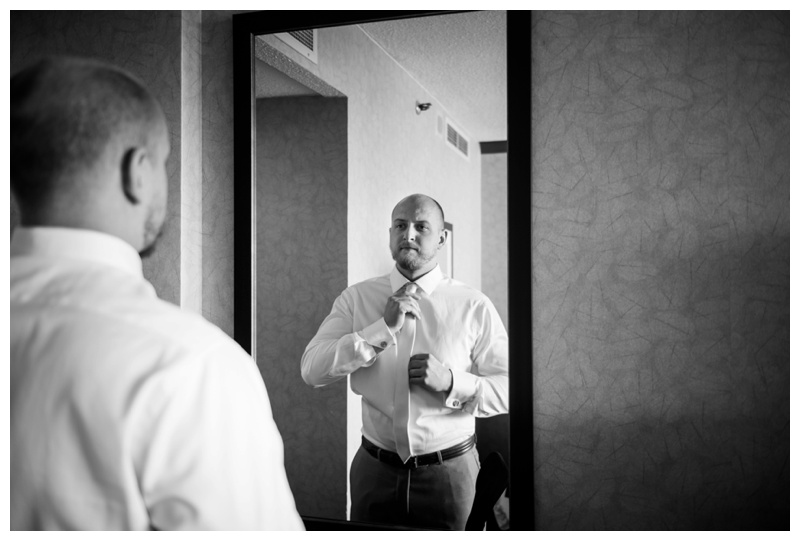 Groom Prep Wedding Photography Banff