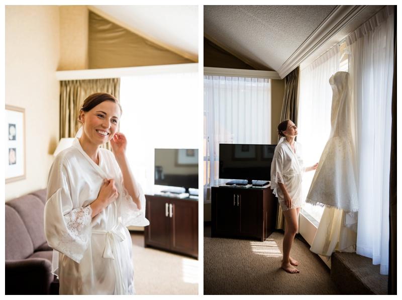 Rimrock Resort Hotel Wedding Banff