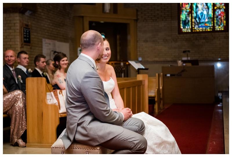 Banff Catholic Church Wedding