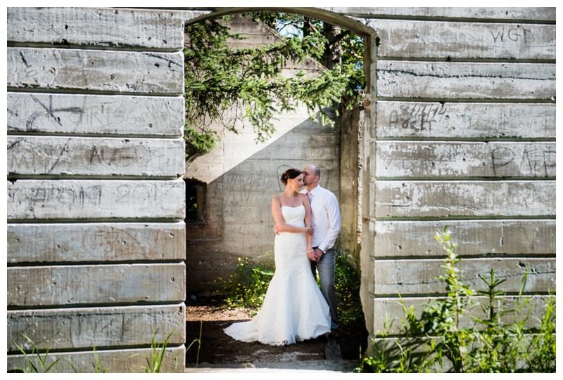 Banff Ruins Wedding Photography
