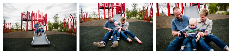 Calgary East Village Family Photography