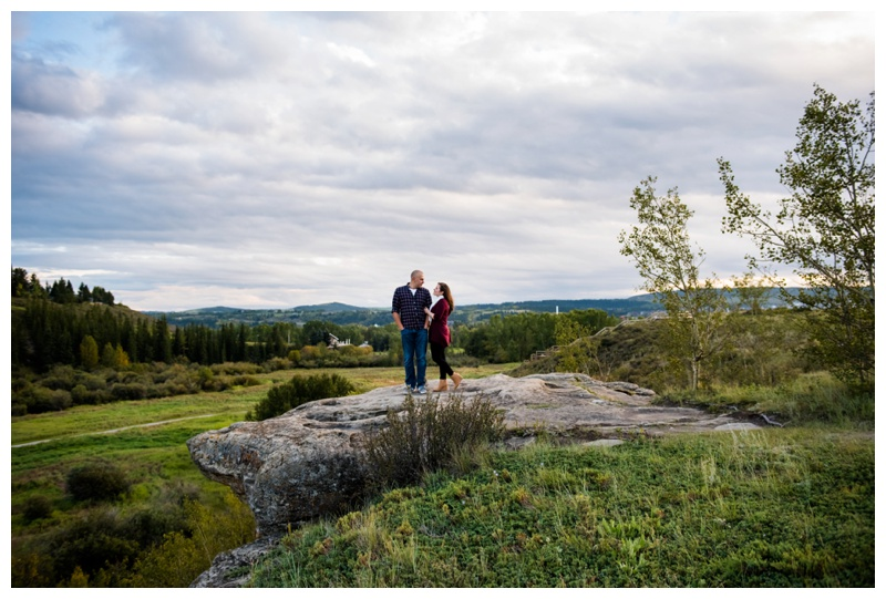 Cochrane Engagement Photography Session