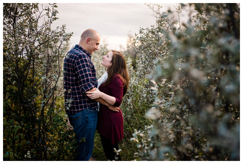 Fall Engagement Photography Calgary