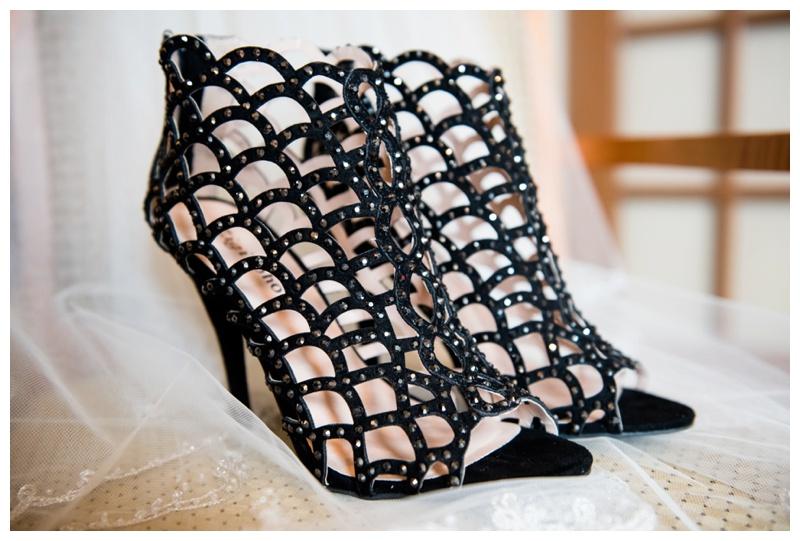 Bride's Wedding Shoes Calgary Alberta