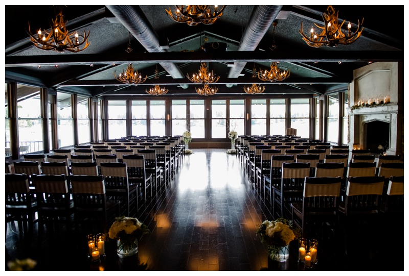 Calgary Lake House Wedding Ceremony