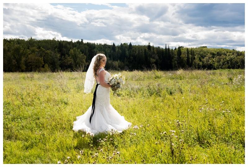 Bridal Portrait Wedding Photography Calgary