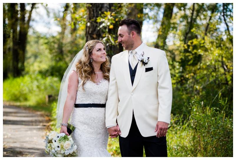 Calgary Bride and Groom Wedding Photos