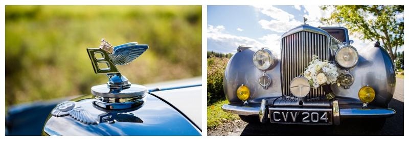 Antique Bentley Wedding Car - Calgary Alberta
