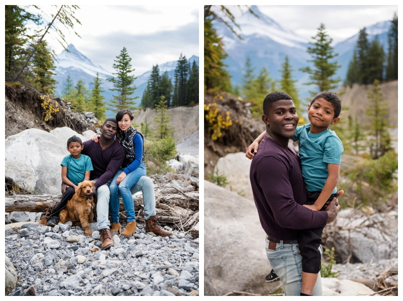 Canmore Mountain Family Session