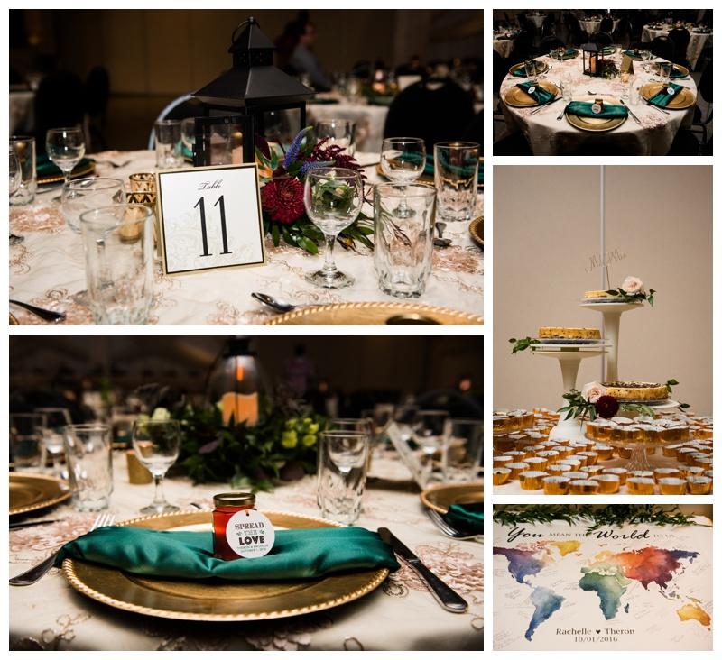 Fall Wedding Reception Okotoks