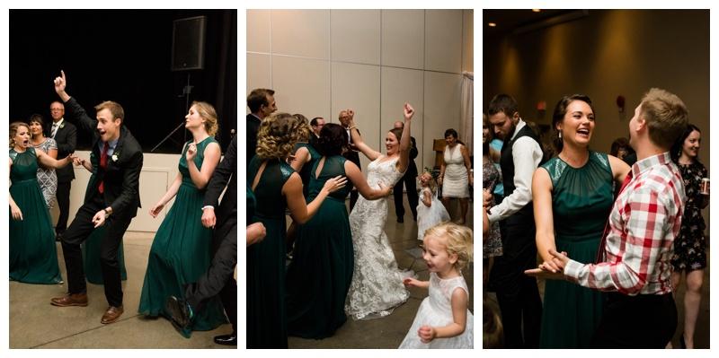 Okotoks Foothills Centennial Center Wedding
