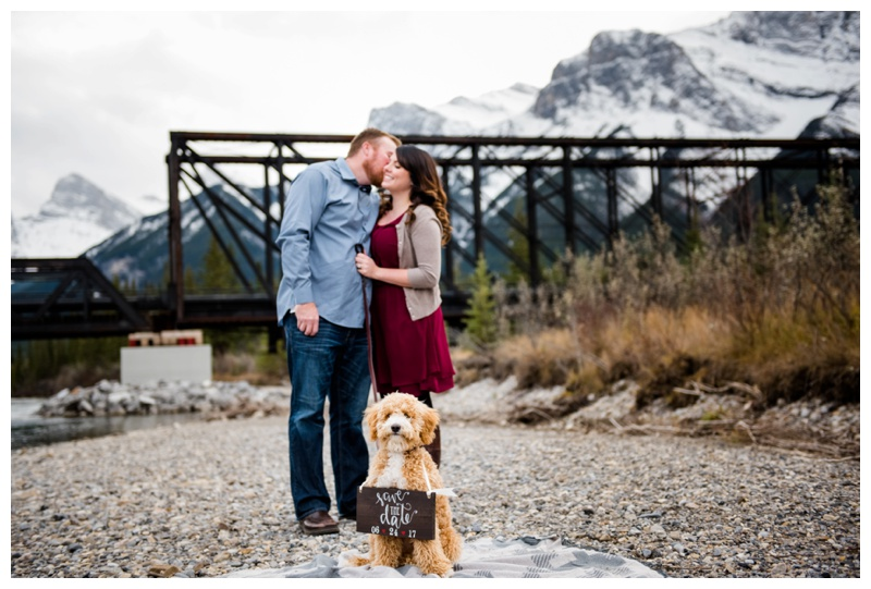 Save The Date Photography with Dogs