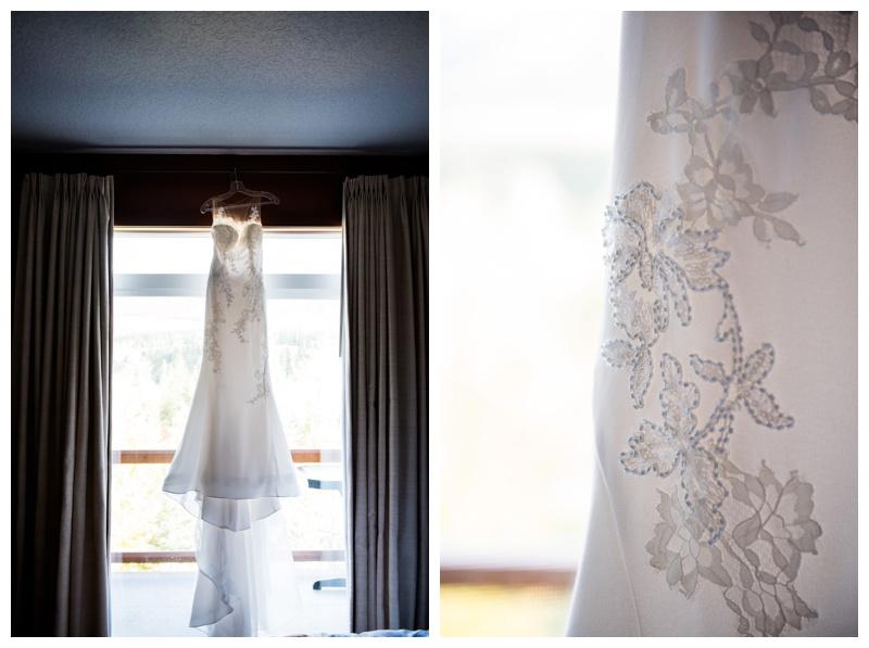 Pernovias Lace Wedding Dress